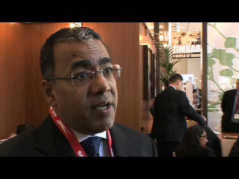 Donald Pyen, Exec. VP, Commercial & Communications, Air Mauritius @ ITB 2010