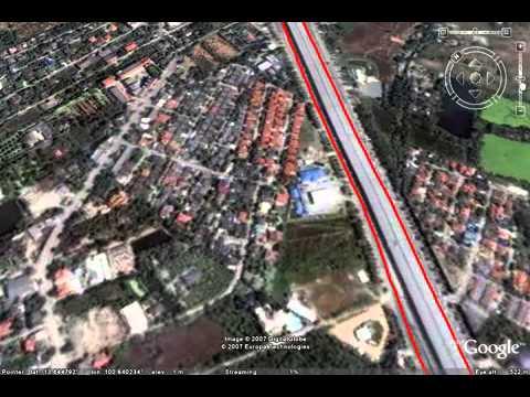 ระบบติดตาม GPS แลดงผลบนแผนที่