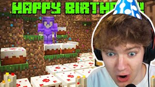 TommyInnit Gets BIRTHDAY Gifts From Tubbo & Ranboo (Dream SMP)