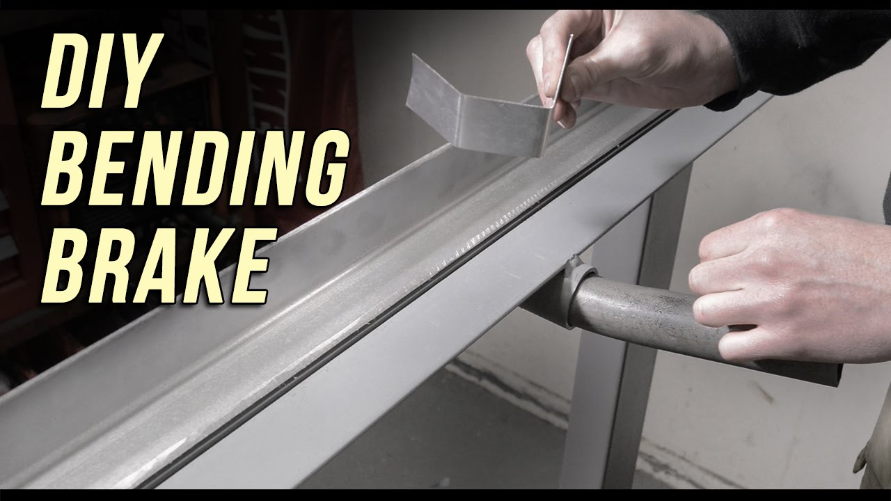 How To Make A Diy Sheet Metal Bending Brake Youtube