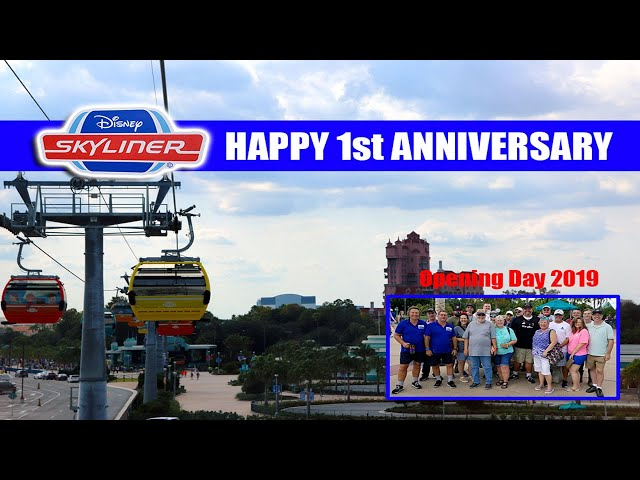 🔴LIVE: Disney Skyliner 1 Year Anniversary - Walt Disney World Live Stream
