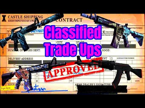Classified trade ups