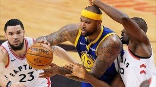 Warriors 18-0 3rd QTR Run Game 2! 2019 NBA Finals