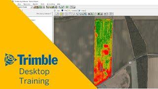 Arbeiten mit einer Ausbeute von Daten   Desktop-Ausbildung   Trimble Software Ag