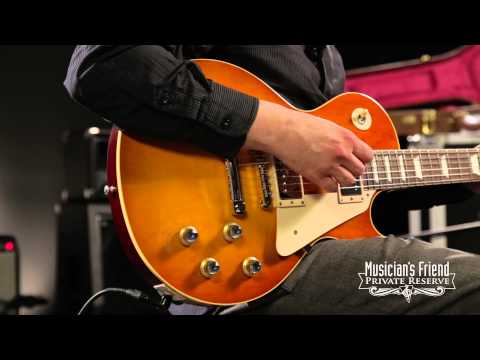 Gibson Custom 1960 Les Paul Plaintop Reissue Electric Guitar