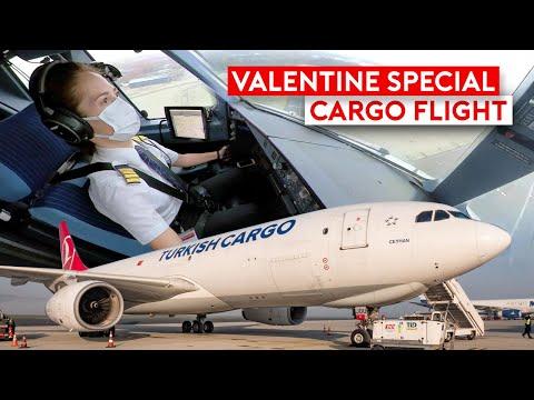 Special Valentine Cargo Flight on Turkish Cargo A330F