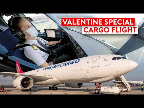 Special Valentine Delivery on Turkish Cargo A330F + Insta360 Giveaway