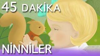Bebekler için 45 Dakika kesintisiz Ninni - Dandini dandini dastana - Fış Fış kayıkçı ve... - AguTiVi
