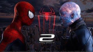 Новый Человек паук  Высокое напряжение:The Amazing Spider-Man 2 (Трейлер) HD