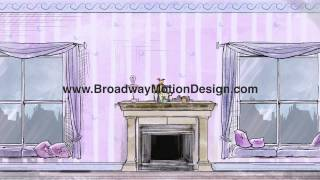 Mary Poppins Scenic Projections: Act One Scene Three