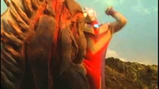 鹹蛋超人(與怪獸打鬥畫面片段大集合)(中文發音)