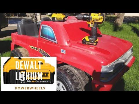 Repeat Dewalt 20v Li-Ion Powered Power Wheels Truck by Jonny Steele
