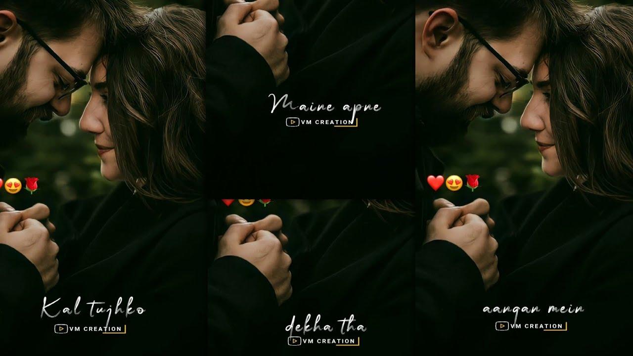 Download ❤️New Hindi Song 4k Full Screen WhatsApp Status    4k Full Screen Love Status 🧡    VM CREATION