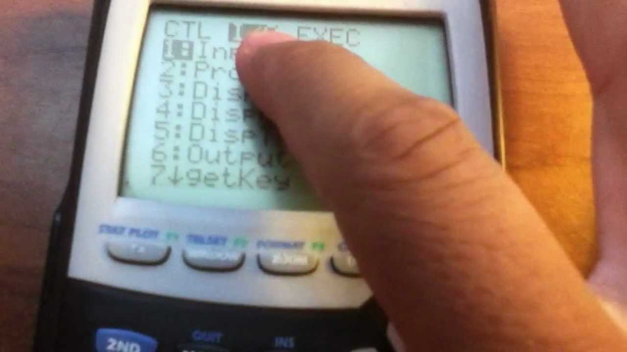 How To Program The Two Point Formula On Your Ti 84 Calculator 201612