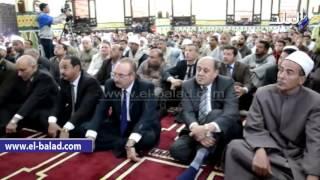 بالفيديو والصور.. محافظ  بني سويف يفتتح مسجد الرحمة بقرية هرم ميدوم