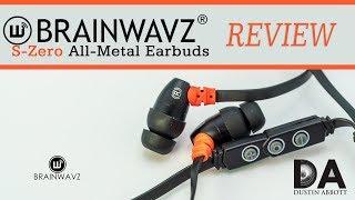 Brainwavz S0 (S-Zero) Metal Earbuds Review | 4K
