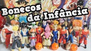 Bonecos do Dragon Ball Z de Quando Eu Era Criança!!!
