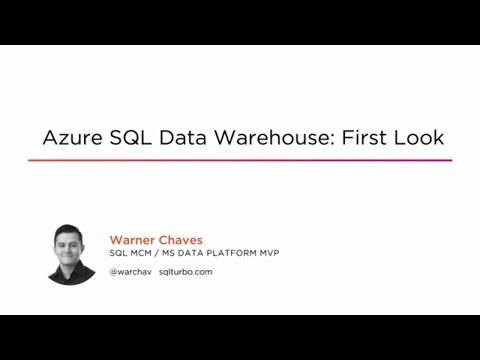 Course Preview: Azure SQL Data Warehouse: First Look