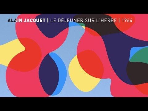 Le Déjeuner sur l'herbe | Alain Jacquet | Centre Pompidou