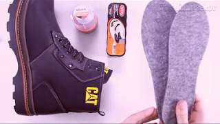 Видео обзор зимних ботинок Caterpillar