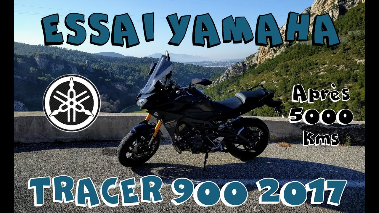 essai tracer 900 2017 yamaha apr s 5000 kms youtube. Black Bedroom Furniture Sets. Home Design Ideas