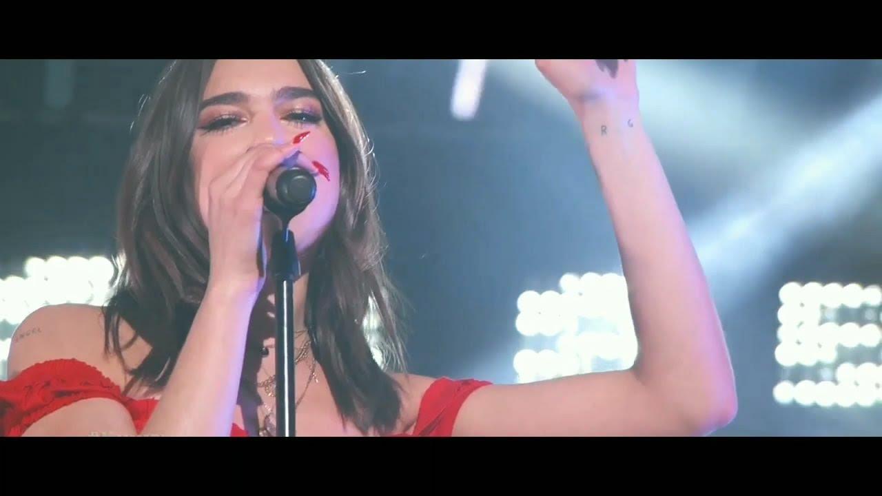Download DUA LIPA - IDGAF LIVE PERFORMANCE