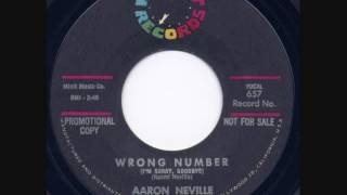 Watch Aaron Neville Wrong Number video