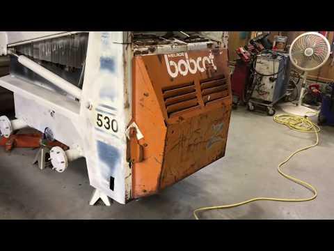 How To Repaint / Restore A Bobcat 530 For Resale. Part 1