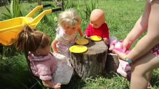 Куклы-Пупсики/Садик для Пупсиков/ Играем в игры