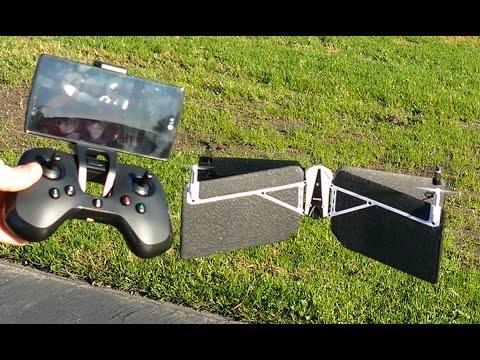 Parrot Swing Drone VTOL Quadcopter Plane Flight