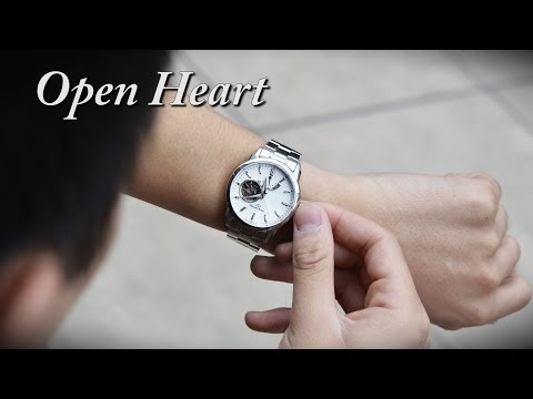 Orient Watch SDA02002W0 Open Heart Automatic Mechanical Men's Watches