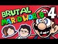 Brutal Mario World: Emotional Rollercoaster - PART 4 - Grumpcade (Ft. Markiplier)