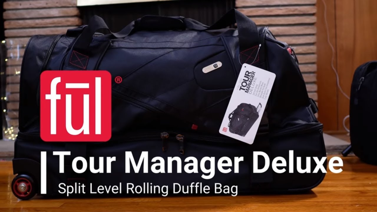 bb53535d7e55 ful Tour Manager Deluxe Rolling Duffel