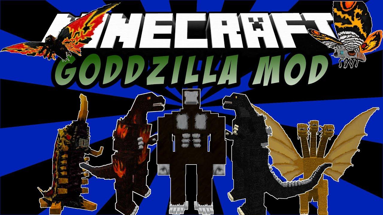 Godzilla King Kong Minecraft Mod