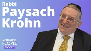 The Story of Rabbi Paysach Krohn | Meaningful People #13