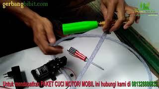 Alat steam Motor Mobil Ac cuci Jet Cleaner Pompa dc 12v 100psi Tekanan Tinggi High Pressure Ez Jet Water