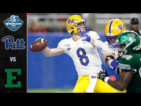 Pittsburgh Vs. Eastern Michigan Quick Lane Bowl Highlights (2019)