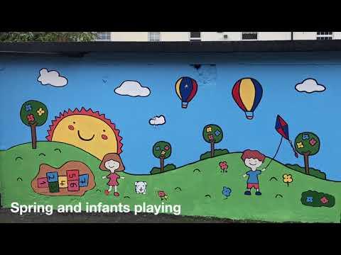Crowe Horwath's 2017 CSR Programme - Painting a Community Mural
