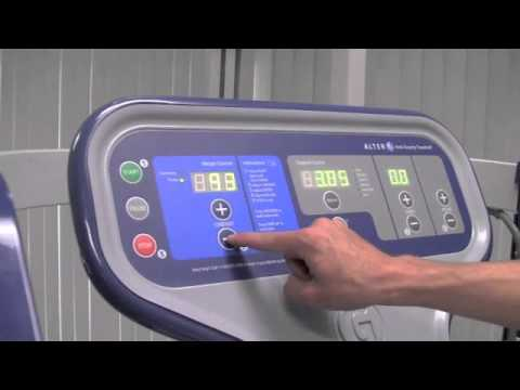 Getting Started with AlterG Anti-Gravity (Unweighting) Treadmill