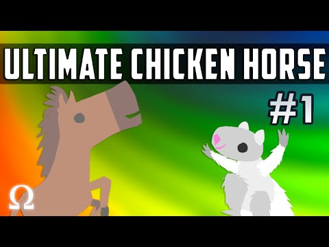 THE WINDMILL OF DOOM! | Ultimate Chicken Horse #1 Ft. Chilled, Bryce, Galm