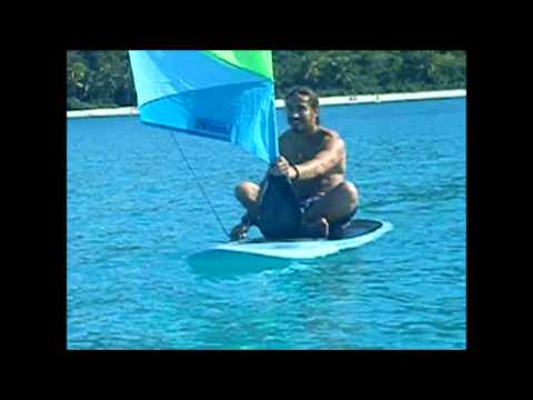 Taloo-ard Paddle Sail. SUP at another level!
