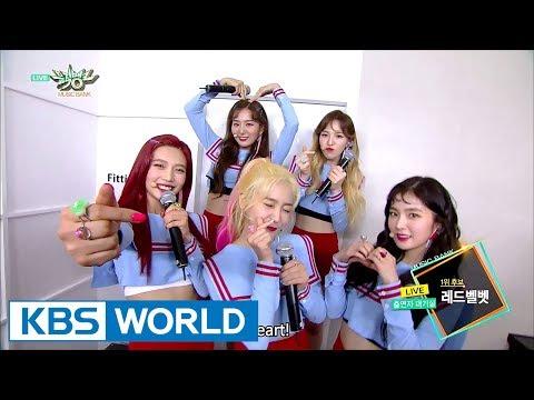 [1Click Scene] Red Velvet winning 1st place at Music Bank! (MusicBank Ep.893)