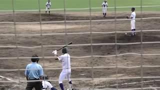 天理高校 西村龍太郎 満塁ホームラン 2018.8 大和広陵戦 奈良/秋季シード戦/高校野球