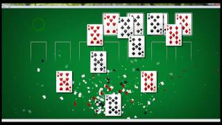 Solitaire on Windows 7