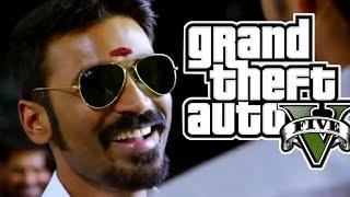 Kokki Kumar Dhanush Entry [HD] | GTA 5 Version | ENTAINT GAMER