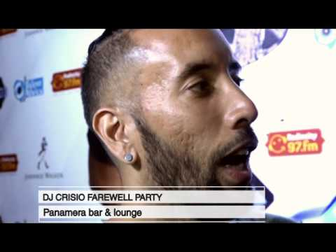 BackStage DJ Crisio Farewell party