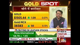 Rajiv Popley On CNBC Awaaaz : Dussehra Sparkling With GOLD