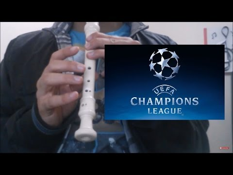 UEFA Champions League Theme Song Recorder Block Flute Notes
