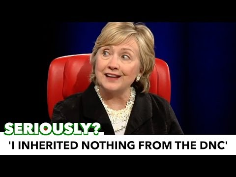 Hillary Claims She 'Inherited Nothing From The Democratic Party