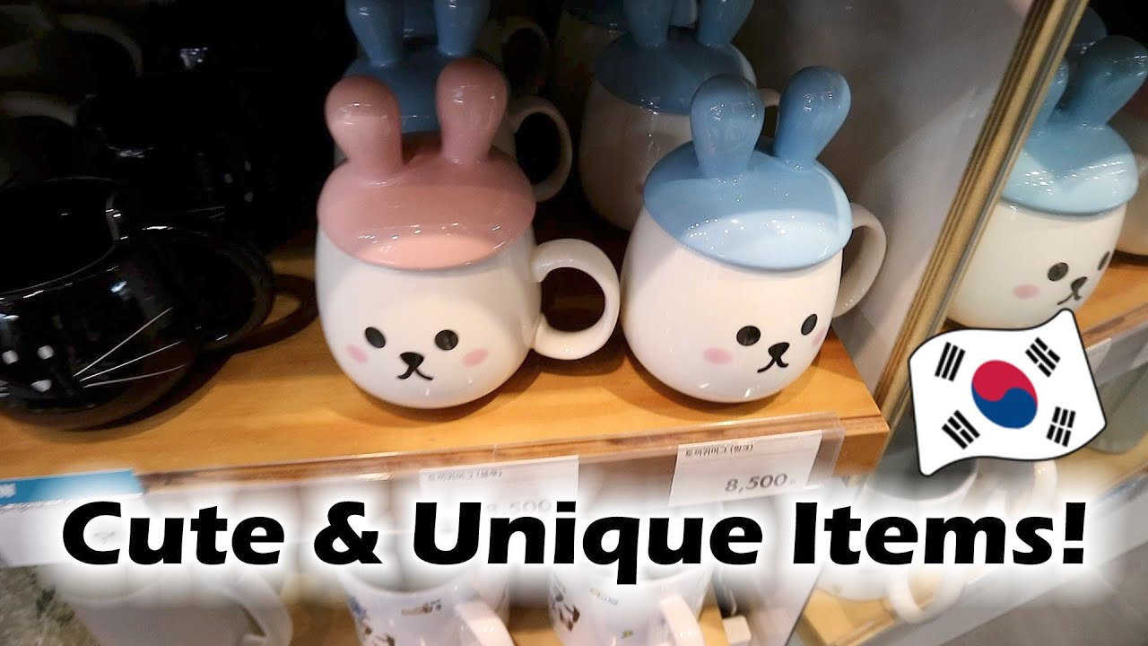 Home Decor Shopping In Seoul | Where To Buy Cute U0026 Unique Items!